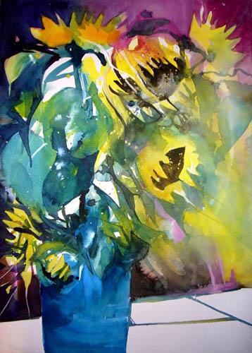 Rainer Sebald - Sonnenblumen