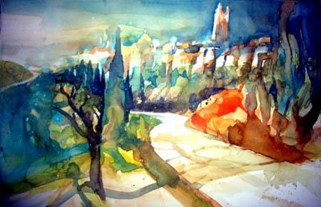 Rainer Sebald - San Mininato II, Toskana