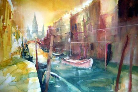 Rainer Sebald - Rio San Barnaba, Venedig