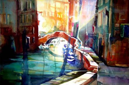 Rainer Sebald - Rio della Pieta, Venedig