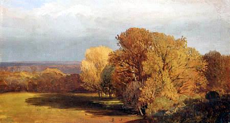 Karl Ludwig Seeger - Herbstliche Parklandschaft