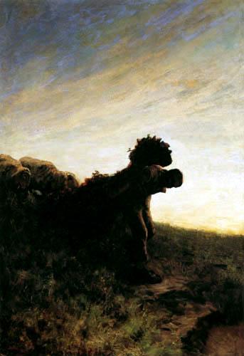 Giovanni Segantini - Mühselige Arbeit