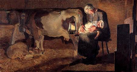 Giovanni Segantini - Die beiden Mütter