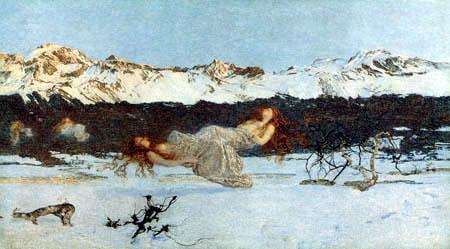 Giovanni Segantini - Strafe der Lust