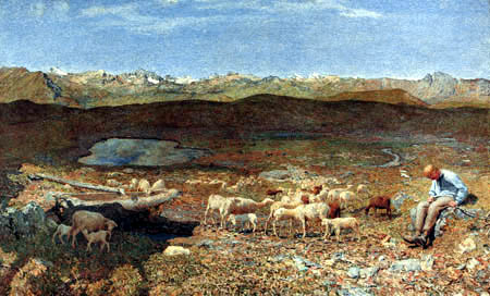 Giovanni Segantini - Valleys of the Alps
