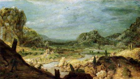 Hercules Pietersz. Seghers - Geologie erkalteter Planeten
