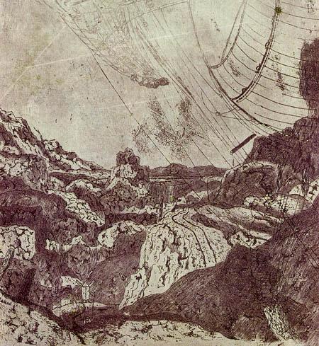 Hercules Pietersz. Seghers - Mountain landscape