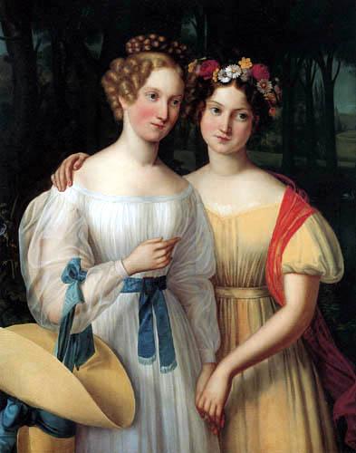 Louise Caroline Seidler - Die Schwestern Pauline und Henriette Spiegel