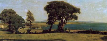 Raffaello Sernesi - Der trasimenische See, Castiglioncello