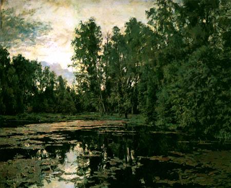 Valentin Alexandrowitsch Serow - Verwachsener Teich