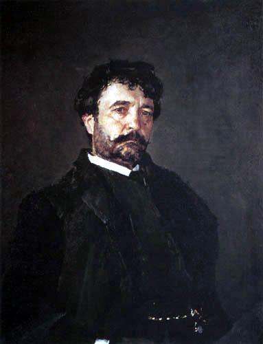 Valentin Alexandrowitsch Serow - Portrait of Angelo Masini