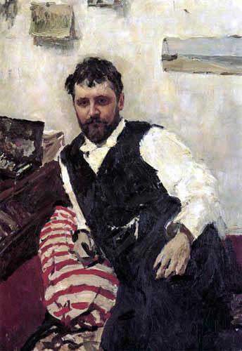 Valentin Alexandrowitsch Serow - The Painter Konstantin Korowin