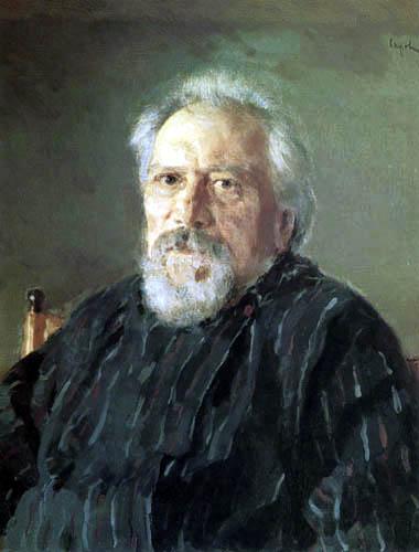 Valentin Alexandrowitsch Serow - Der Schriftsteller Nikolai Leskow