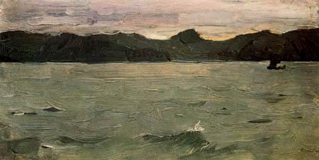 Valentin Alexandrowitsch Serow - Das weiße Meer