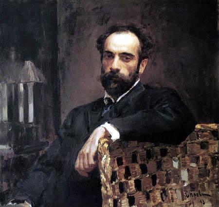 Valentin Alexandrowitsch Serow - Der Maler Isaak Lewitan