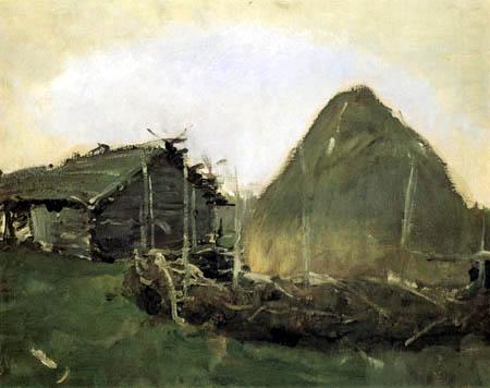 Valentin Alexandrowitsch Serow - Haystack