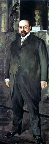 Valentin Alexandrowitsch Serow - Porträt Michail Morosow