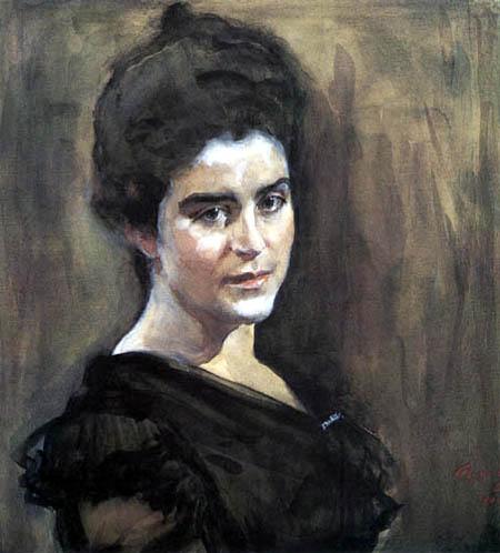 Valentin Alexandrowitsch Serow - Sofia Lukomskaja