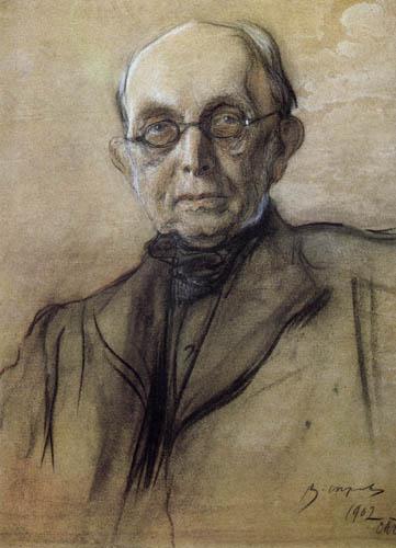 Valentin Alexandrowitsch Serow - Konstantin Pobedonoszew