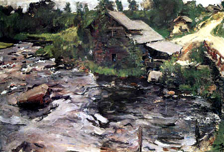 Valentin Alexandrowitsch Serow - Finnish mill