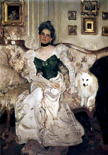 Valentin Alexandrowitsch Serow - Princess Sinaida Jussupova