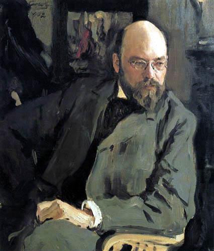 Valentin Alexandrowitsch Serow - Der Maler Ilja Ostrouchow