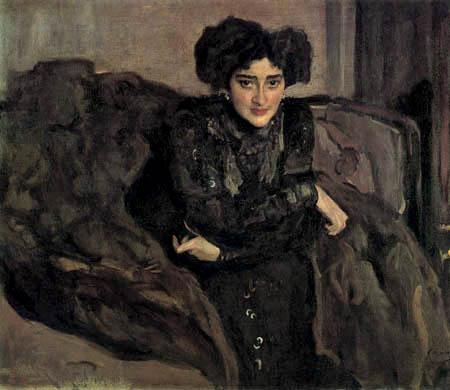 Valentin Alexandrowitsch Serow - Jewdokija Lossewa