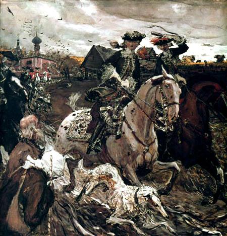 Valentin Alexandrowitsch Serow - Ride