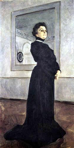 Valentin Alexandrowitsch Serow - Die Schauspielerin Maria Jermolowa