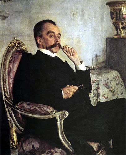 Valentin Alexandrowitsch Serow - Der Fürst Wladimir Golizyn