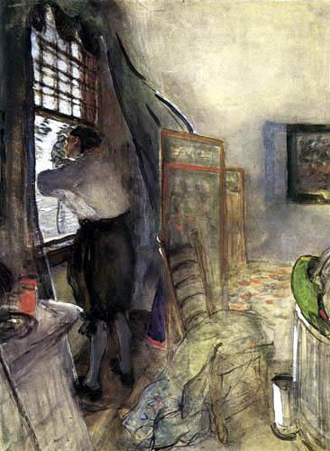 Valentin Alexandrowitsch Serow - Peter I. in Monplaisir