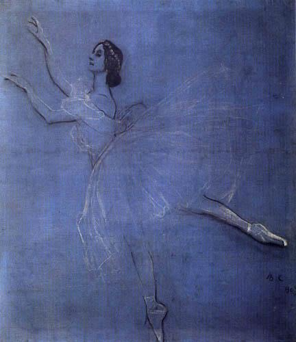 Valentin Alexandrowitsch Serow - Die Ballerina Anna Pawlowa
