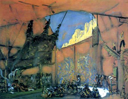 Valentin Alexandrowitsch Serow - Bühenentwurf zur Oper 'Judith'