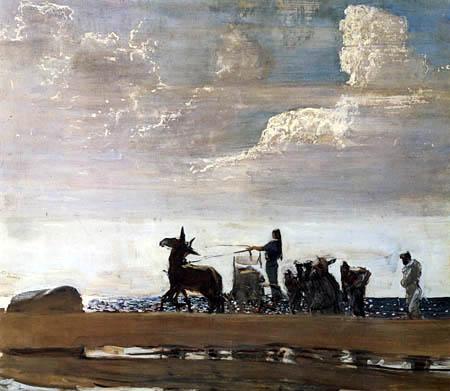 Valentin Alexandrowitsch Serow - Odysseus und Nausikaa
