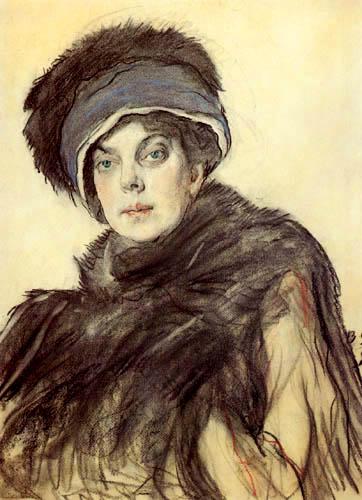Valentin Alexandrowitsch Serow - Die Fürstin Olga Orlowa
