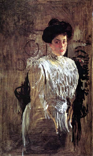 Valentin Alexandrowitsch Serow - Bildnis Margarita Morosowa