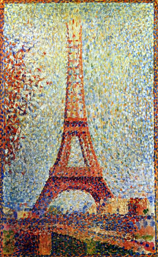 Georges-Pierre Seurat - The Eiffel Tower