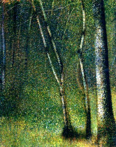 Georges-Pierre Seurat - Im Wald bei Pontaubert