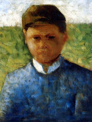 Georges-Pierre Seurat - Farmers boy