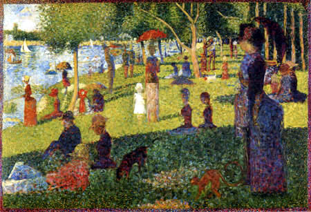 Georges-Pierre Seurat - Afternoon, 'La Grande Jatte'