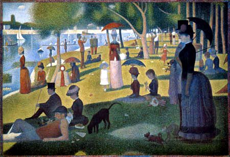 Georges-Pierre Seurat - Sunday Afternoon on the Island 'La Grande Jatte'