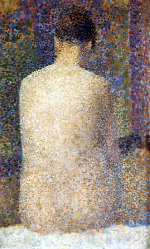 Georges-Pierre Seurat - Rückenakt