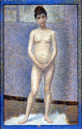 Georges-Pierre Seurat - Stehender Akt