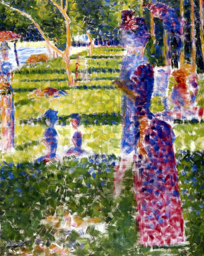Georges-Pierre Seurat - The Pair