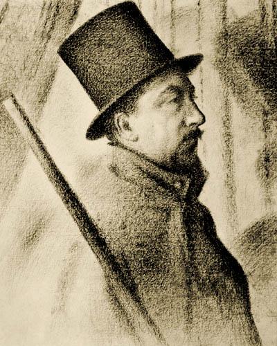Georges-Pierre Seurat - The Painter Paul Signac