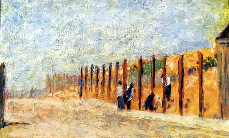 Georges-Pierre Seurat - Farmers working