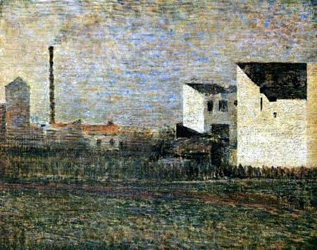 Georges-Pierre Seurat - In einem Industrievorort