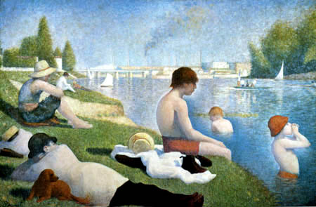 Georges-Pierre Seurat - Bathing place near Asnières