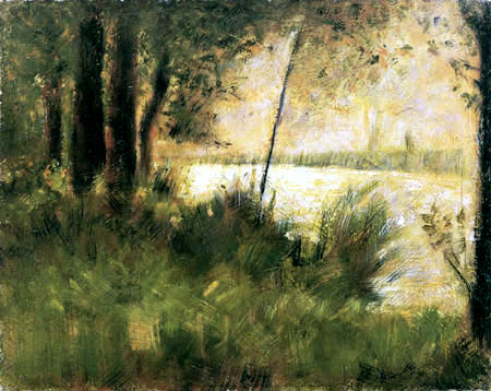 Georges-Pierre Seurat - Riverbank