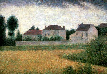 Georges-Pierre Seurat - Weiße Häuser bei Ville d´Avray